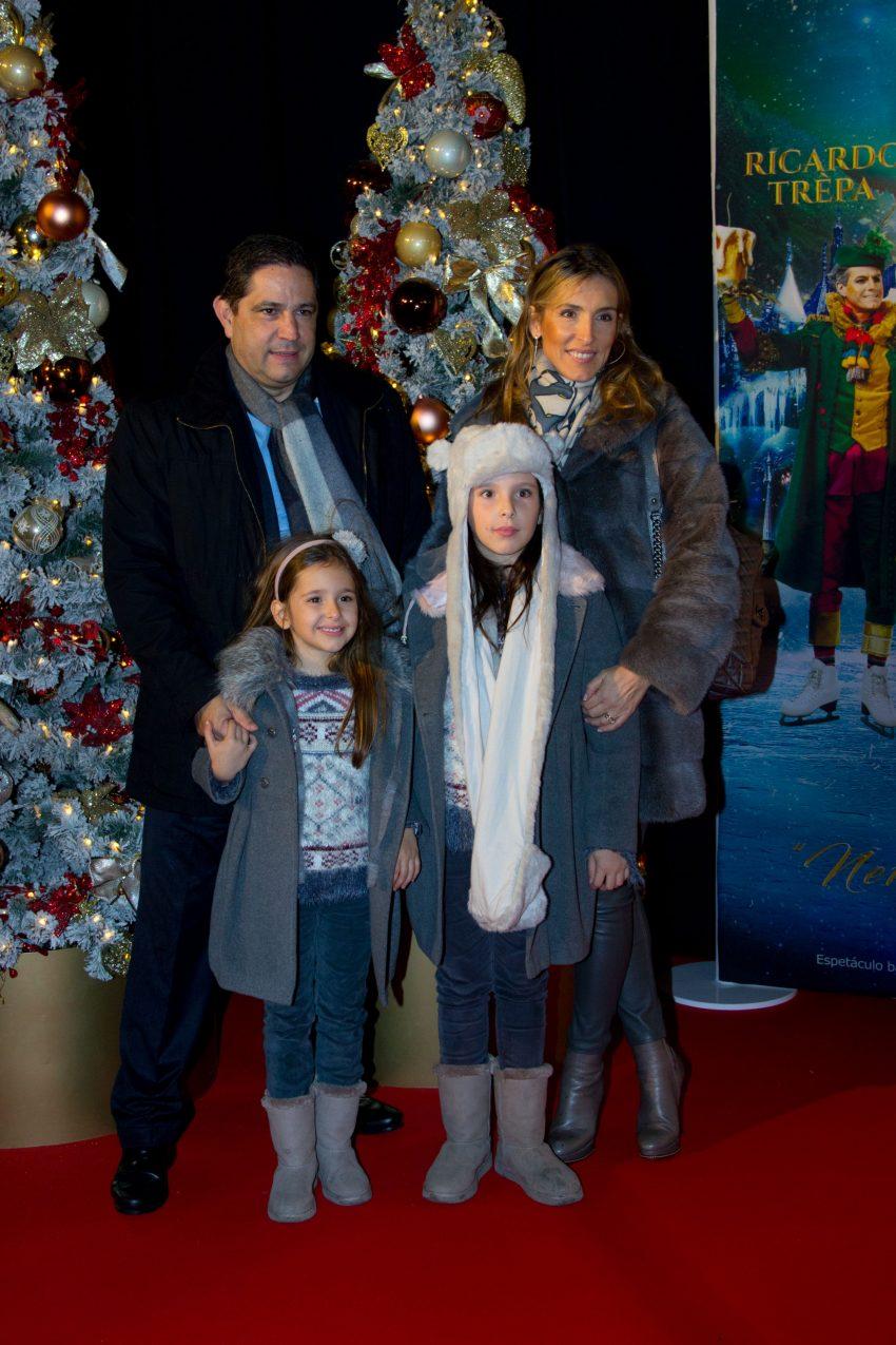 Mário Ferreira e família