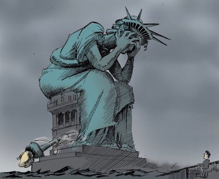 meme-estatua-da-liberdade-trump