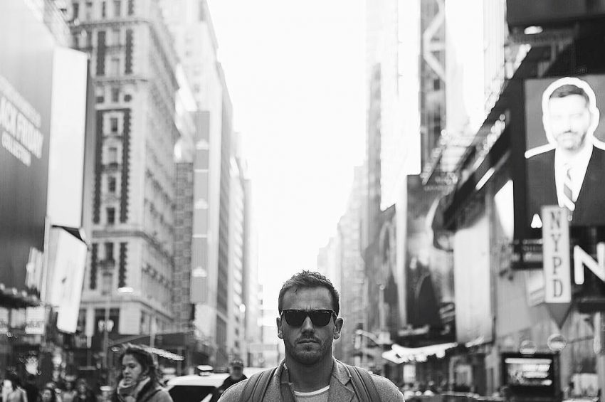 Pedro Teixeira em Nova Iorque