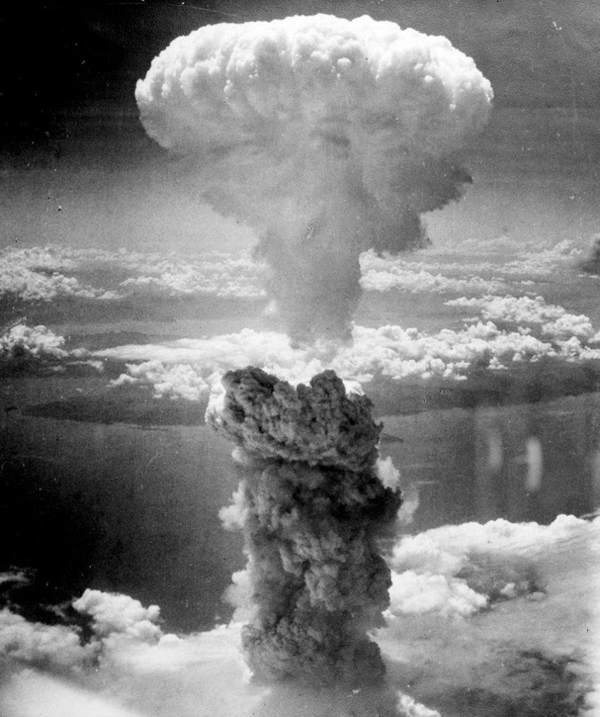 Nuvem cogumelo em Nagasaki (1945, Lieutenant Charles Levy)