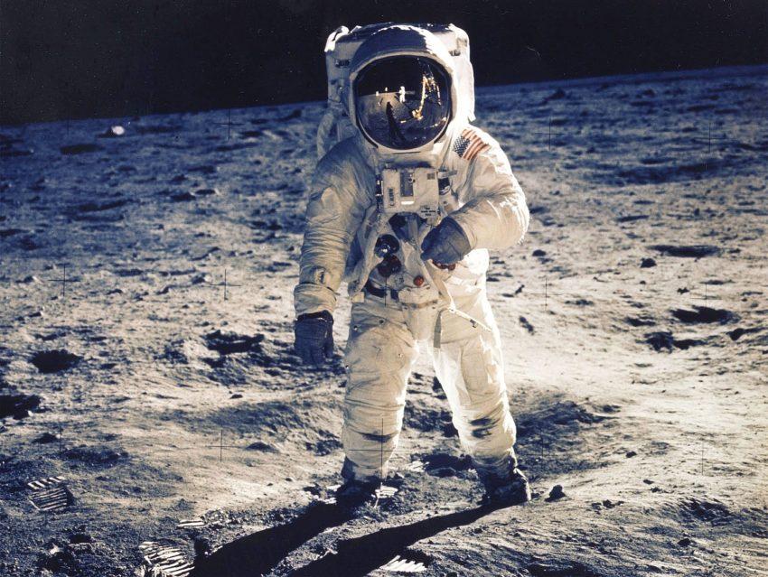 O homem na lua (1969, Nasa)