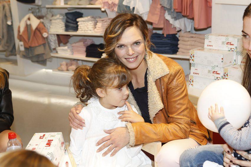 Joana Câncio com a filha