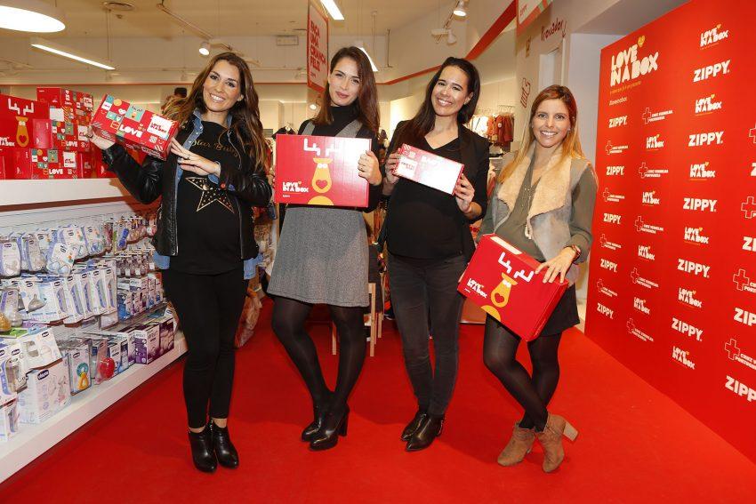 Joana Teles, Ana Varela, Adriane Garcia e Rita Rodrigues