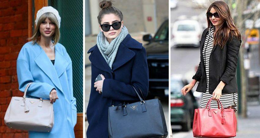 Taylor Swift, Taylor Hill e Miranda Kerr não passam sem a sua Galleria Bag