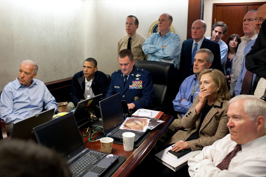 Situation room (2011, Pete Souza)