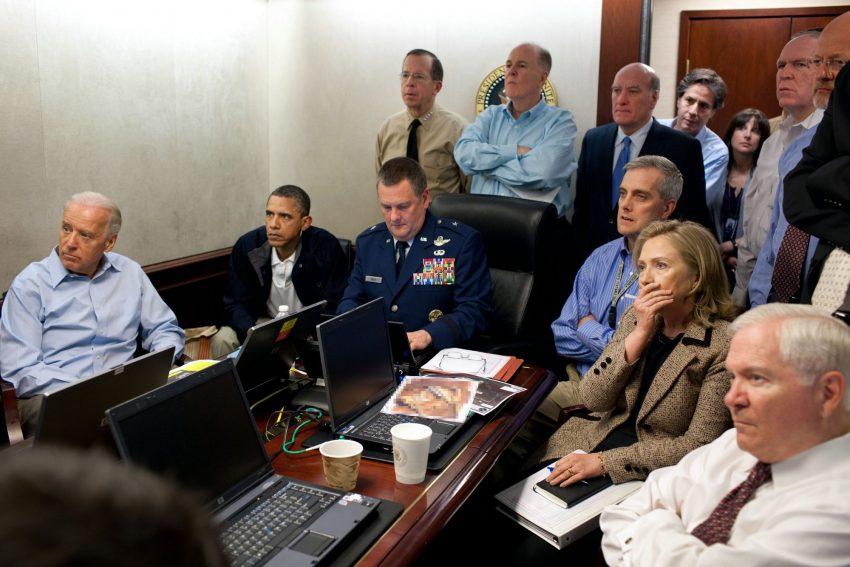 Situation room (2011, Pete Souza)