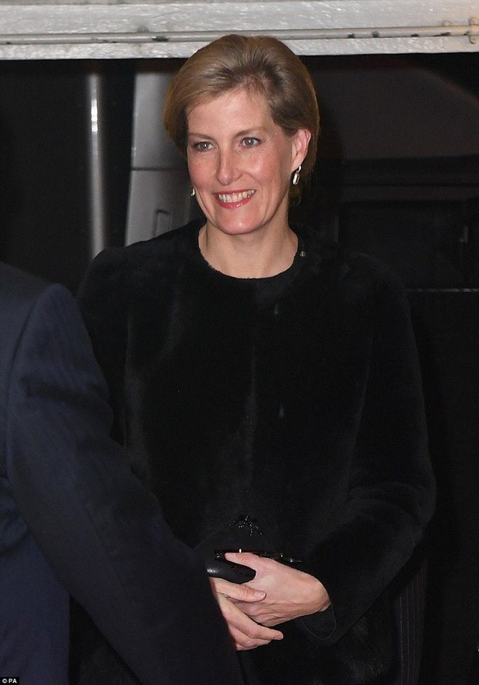 Sophie, condessa de Wessex, mulher do príncipe Eduardo