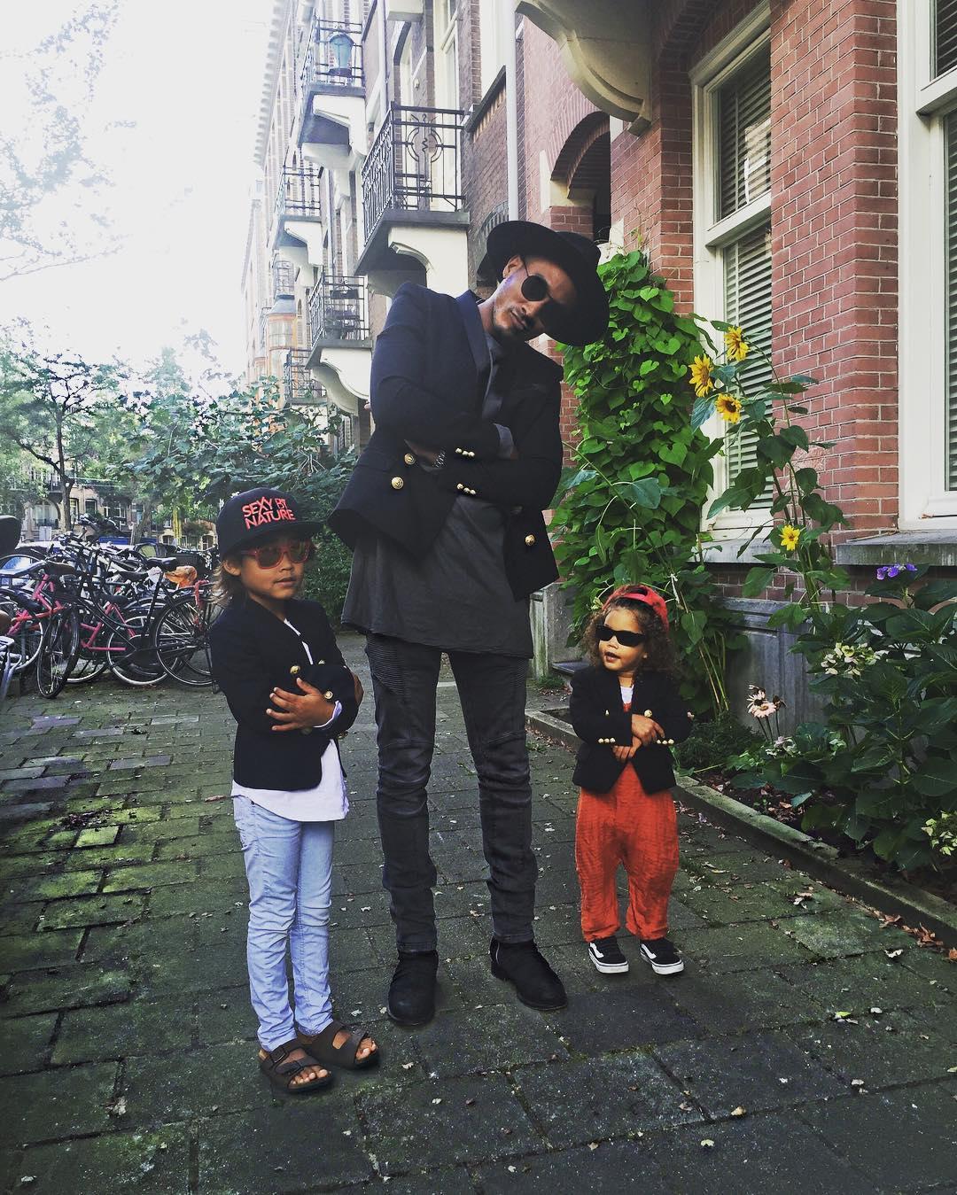 O marido e os filhos de Doutzen Kroes