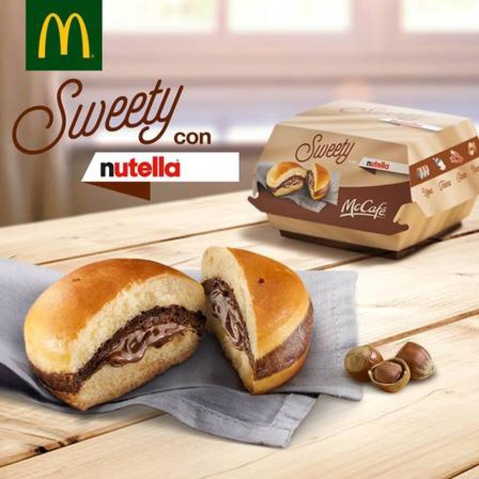 McDonald's lança sanduíche de Nutella na Itália