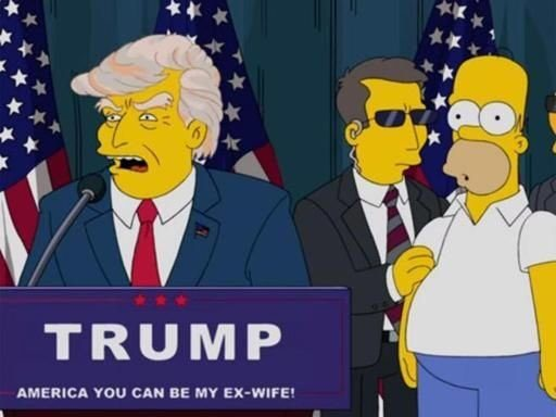 trump-simpsons