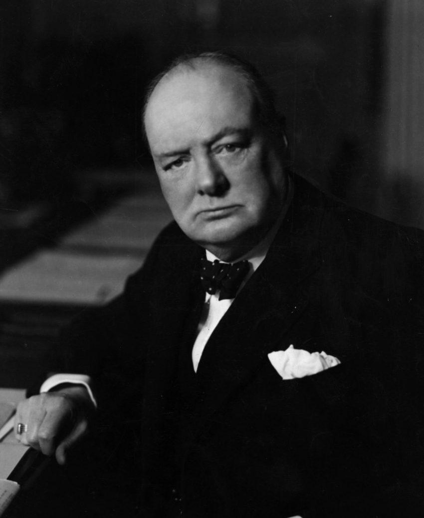 Winston Churchill (1941, Yousuf Karsh)
