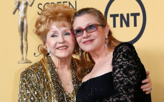 debbie reynolds e carrie fisher