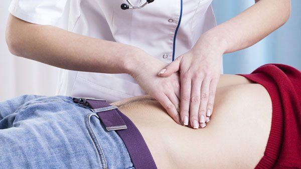 apêndice barriga abdómen