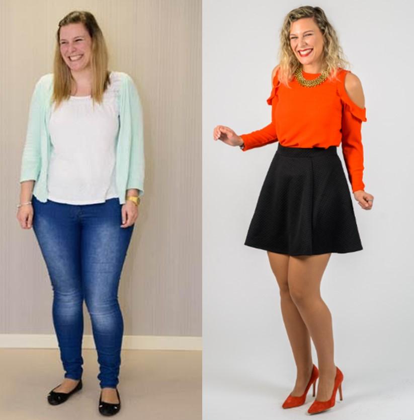 Carla Almeida Pronokal antes e depois dieta