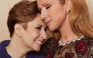 Céline Dion e amiga Andréanne Sasseville morreu cancro capa