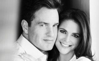 Chris O'Neill e Princesa Madalena da Suécia