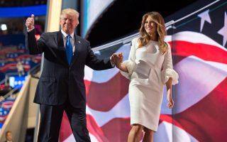 Donald e Melania Trump