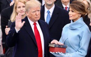 Donald Trump e Melania Trump capa