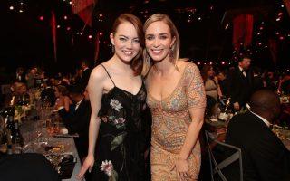 Emma Stone e Emily Blunt SAG Awards