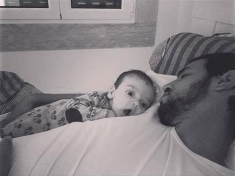 Filho e namorado de Carolina Deslandes