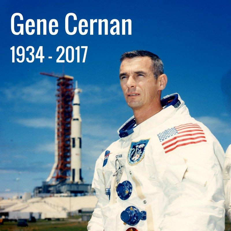 Gene Cernan astronauta