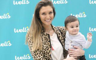 Joana Freitas e filho