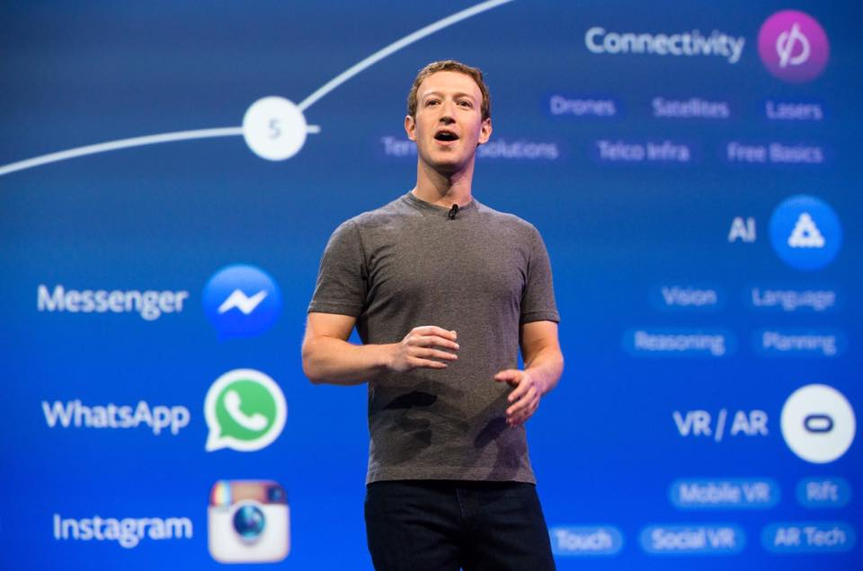 SAN FRANCISCO, CA - SEPTEMBER 11:  Facebook Founder and CEO Mark Zuckerberg speaks during the TechCrunch Conference at SF Design Center on September 11, 2012 in San Francisco, California.  (Photo by C Flanigan/WireImage) *** Local Caption *** Mark Zuckerberg