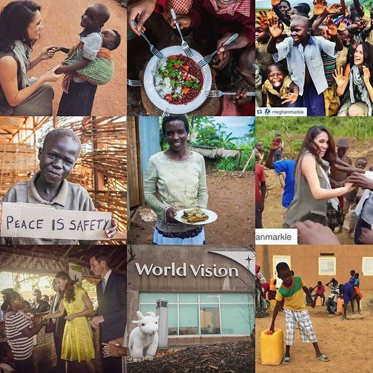 Meghan Markle embaixadora World Vision