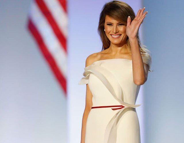 Melania Trump baile inaugural