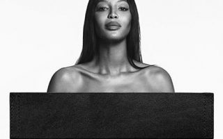 Naomi Campbell Campanha Givenchy Jeans capa