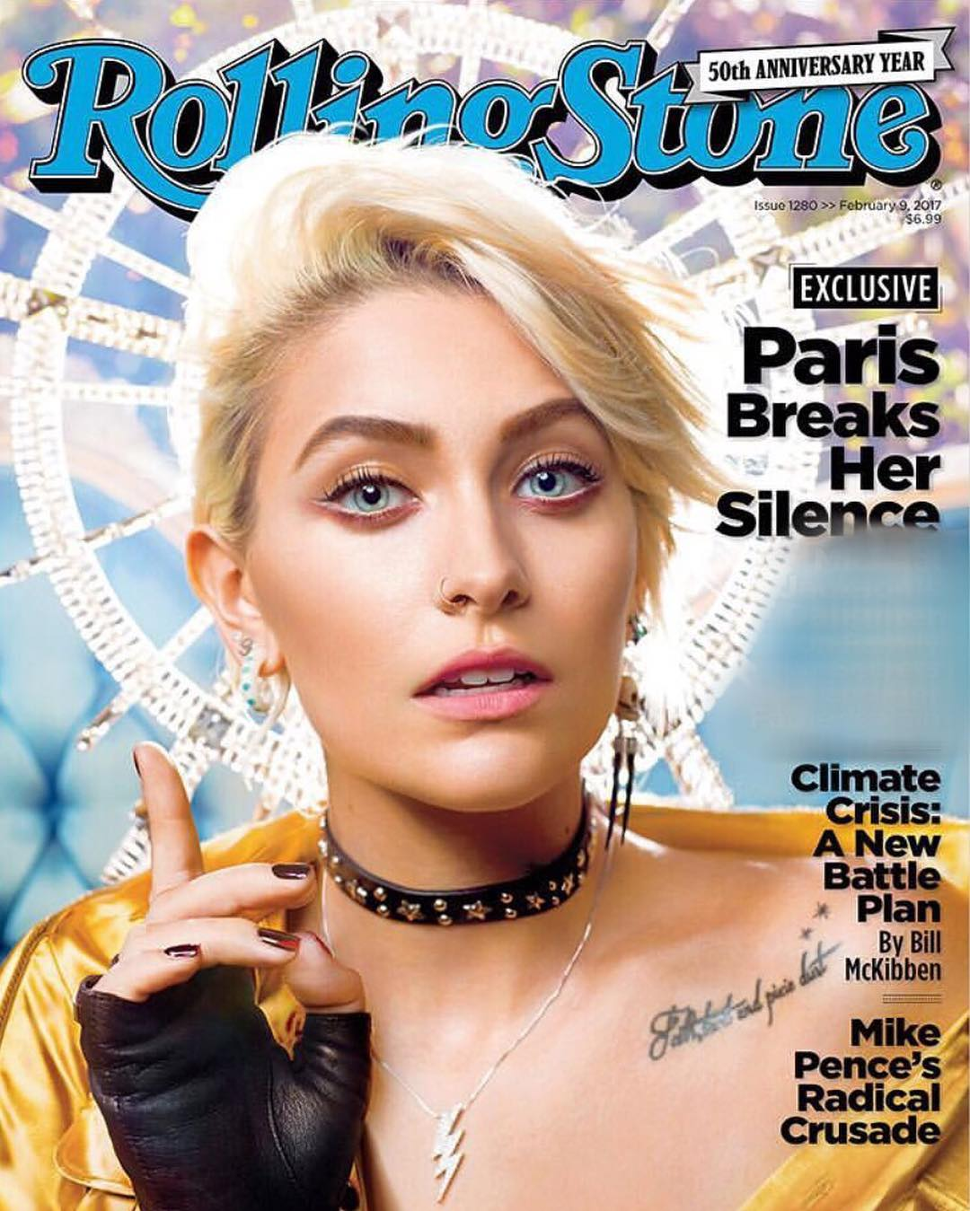 Paris Jackson capa da Rolling Stone