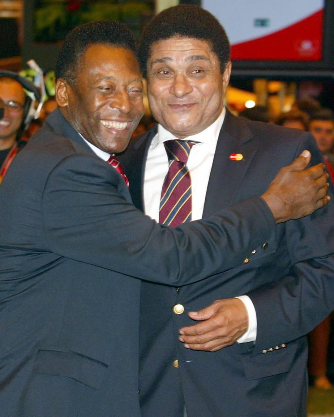 Pelé e Eusébio