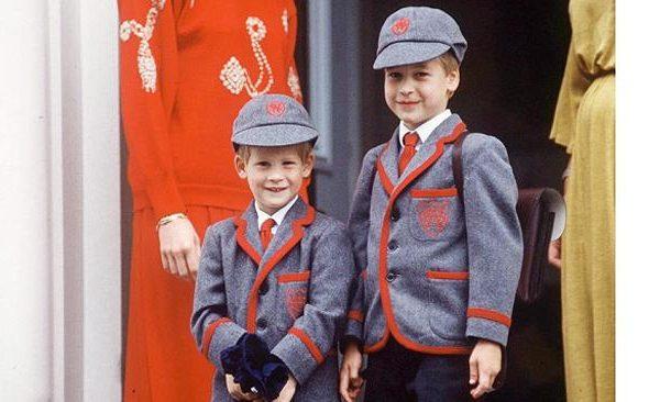 Príncipe Harry e William primária Wetherby School