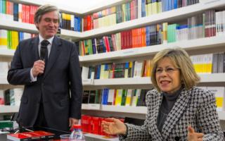 professor Rui Nunes e Maria de Belém