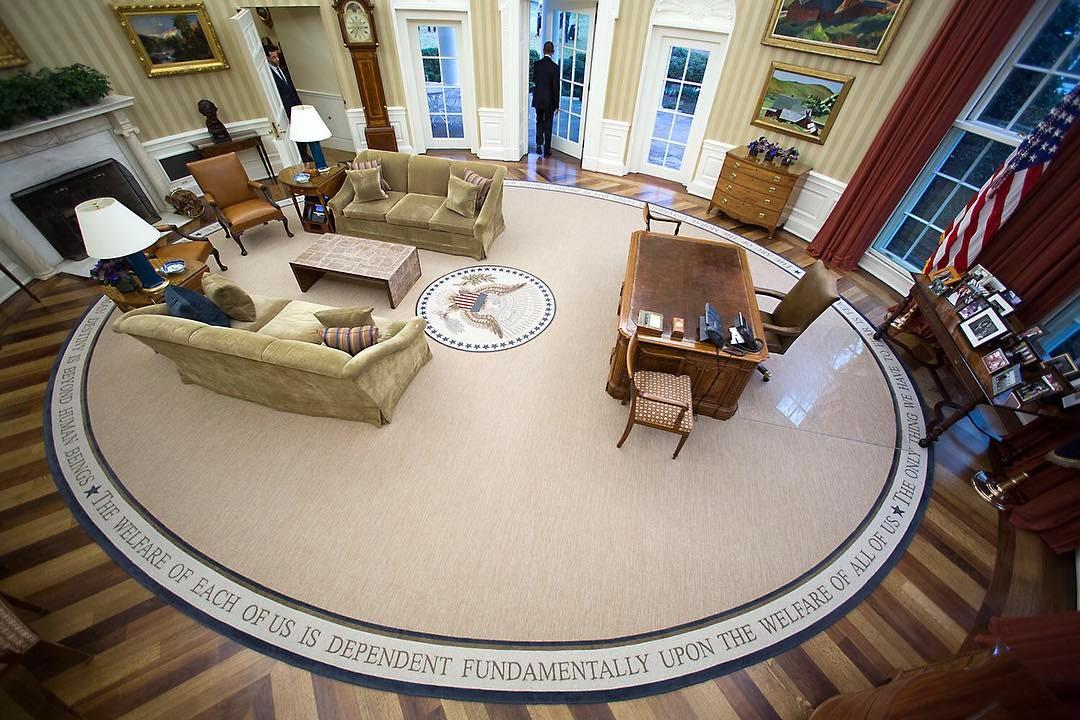 Sala Oval de Barack Obama