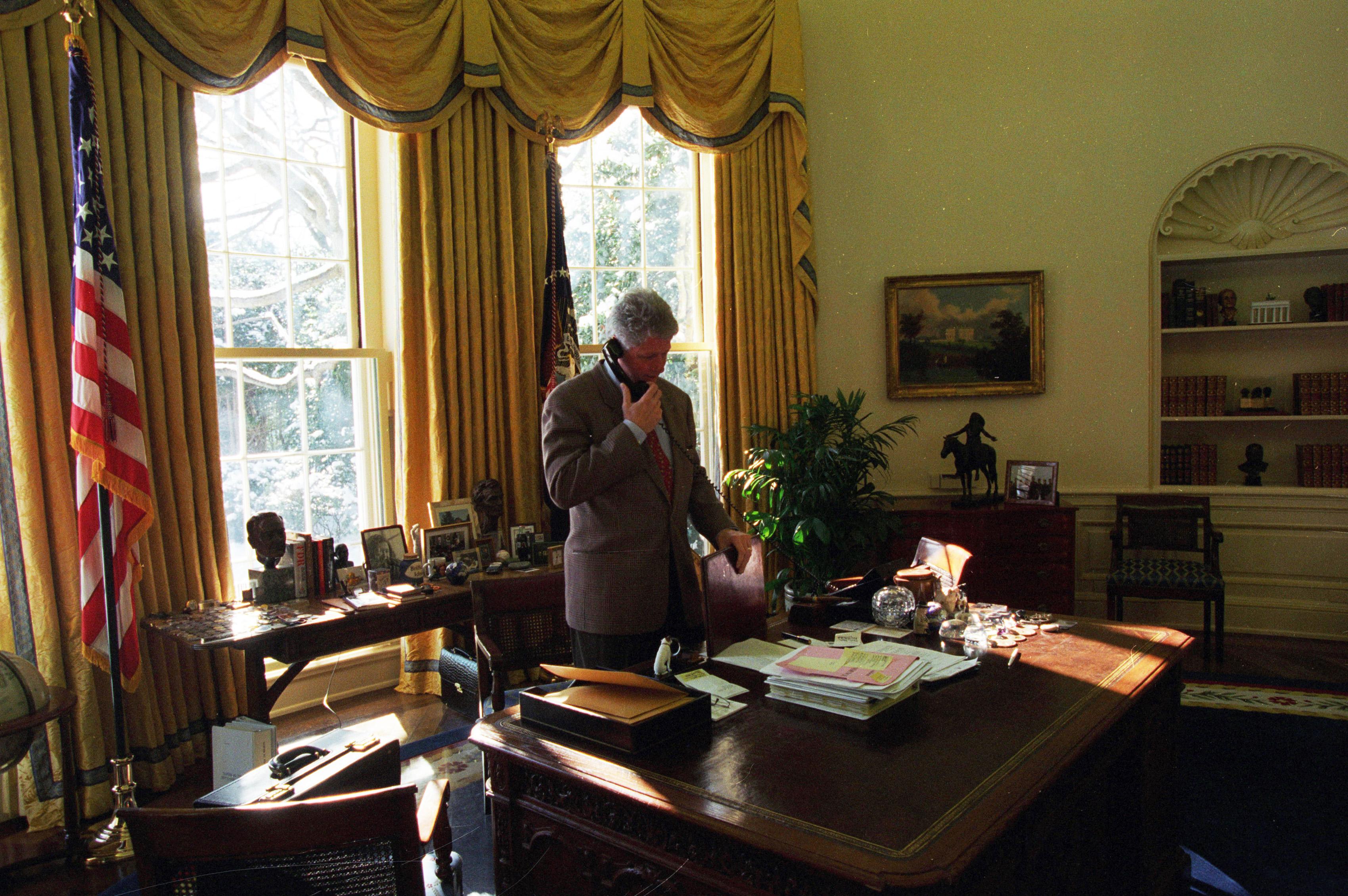 Sala Oval de Bill Clinton