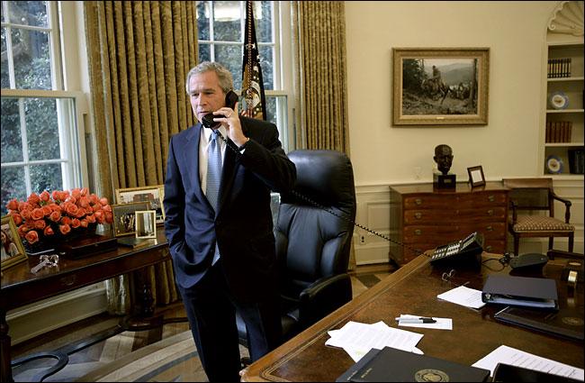 Sala Oval de George W. Bush