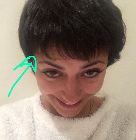 Sofia Ribeiro e o cabelão