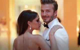 Victoria e David Beckham capa