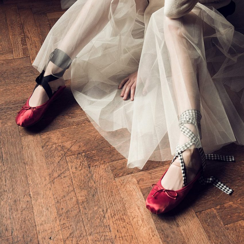 Sabrinas sapatos primavera com laços