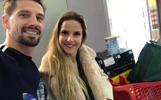 Adrien Silva e Margarida Neuparth solidariedade