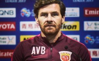André Villas-Boas treinador Shangai capa