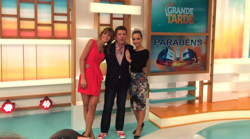 Andreia Rodrigues, João Baião e Luciana Abreu
