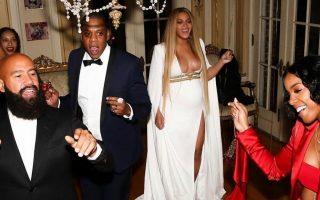 Beyoncé festa depois dos Grammys capa