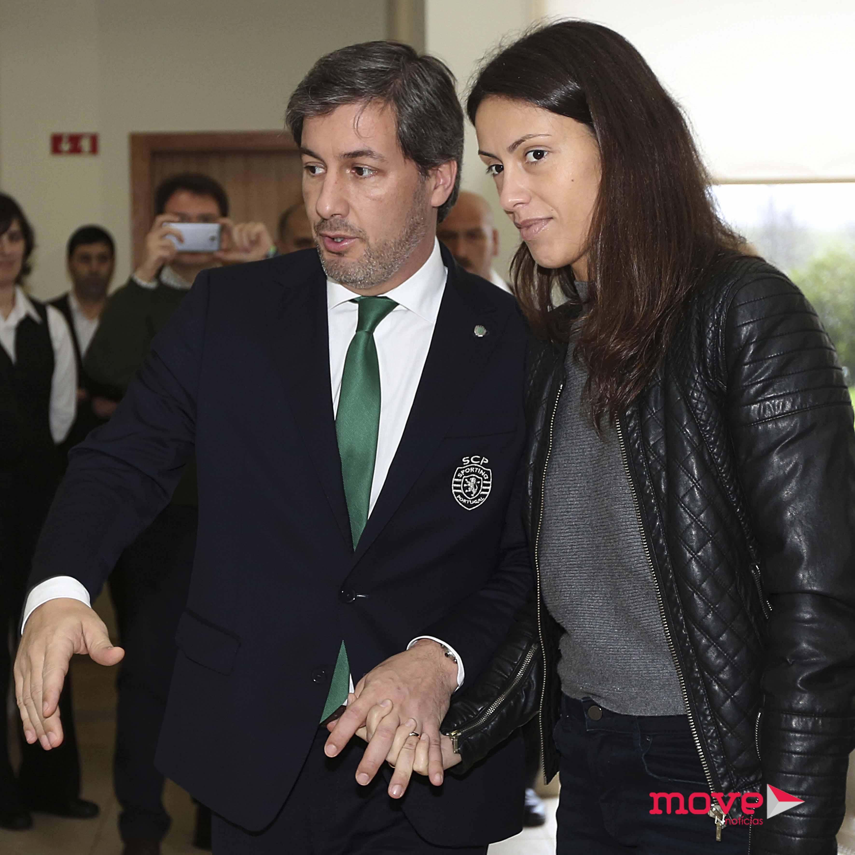 Bruno de Carvalho e Joana Ornelas 2