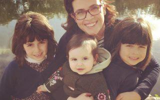 Catarina Raminhos e filhas capa