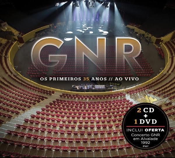 CD DVD 35 anos de carreira GNR