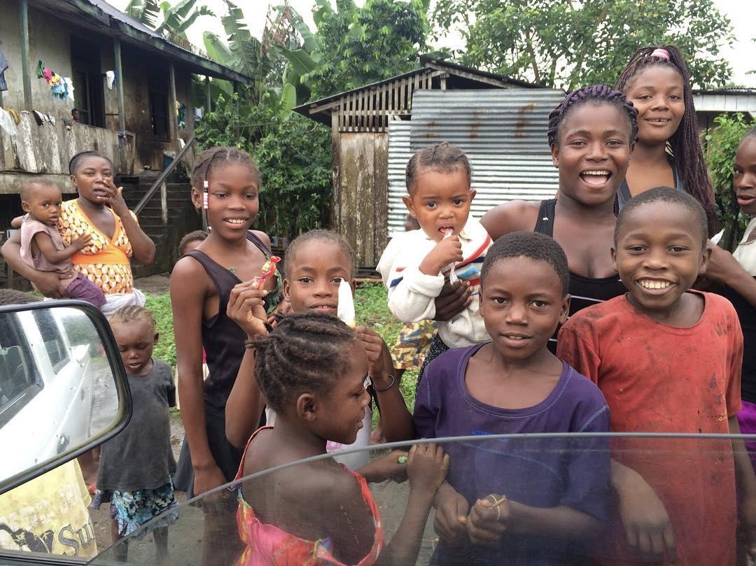Crianças de São Tomé Adrien Silva