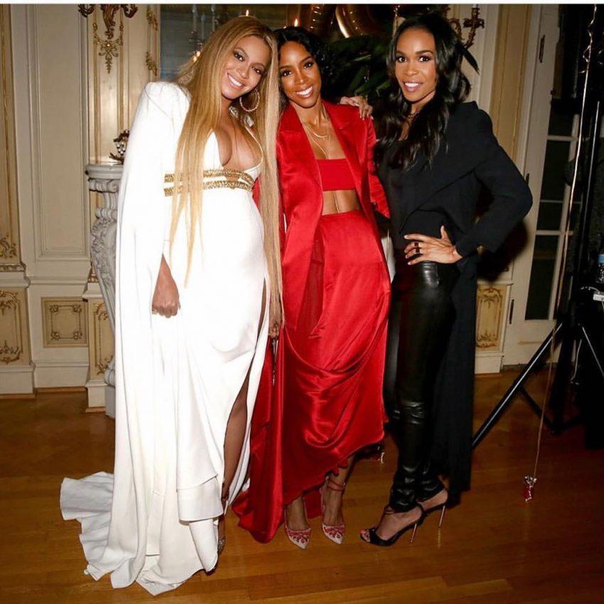 Destiny Child festa Beyoncé depois dos Grammys