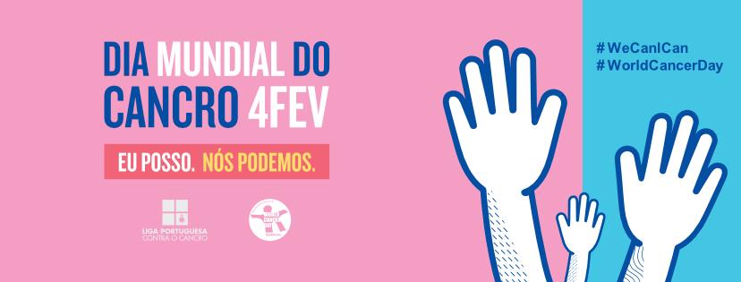 Dia Mundial do Cancro slogan